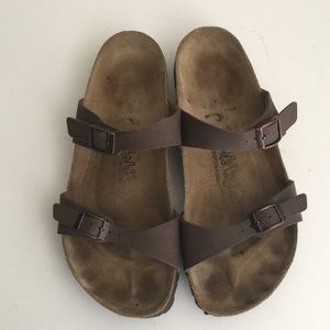 2570e33dc53d Birkenstock Shoes - Birkenstock Birkis Sandals 240 Size 6